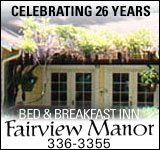Fairview Manor Bed and Breakfast Inn
