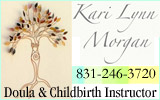 Kari Lynn Morgan, Childbirth Educator and Doula