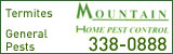 Mountain Home Pest Control