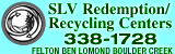 SLV Redemption/Recycling Center